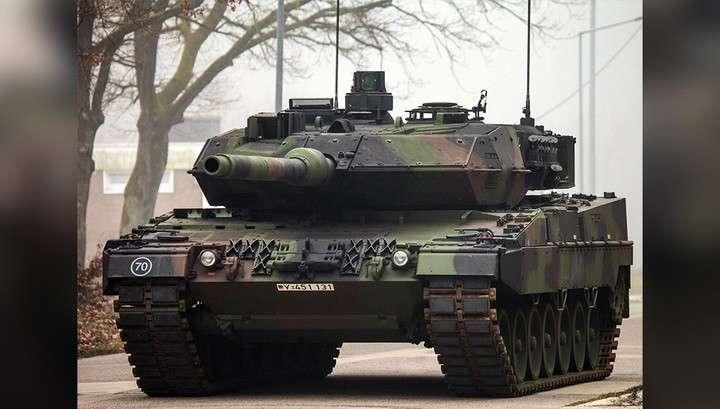 Из 244 немецких танков Leopard исправных оказалось только 95