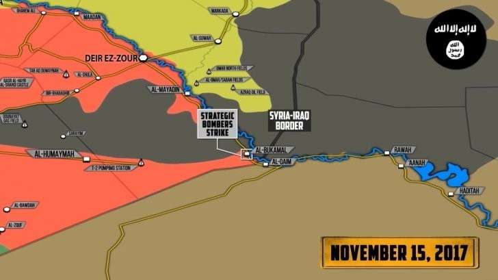 Сирия: тяжёлые бои под Абу-Камалем, прорыв в восточной Гуте