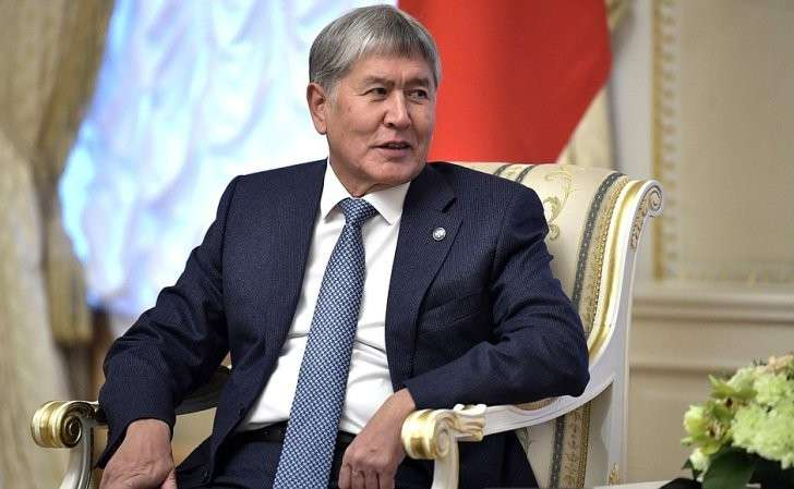 Президент Киргизской Республики Алмазбек Атамбаев.