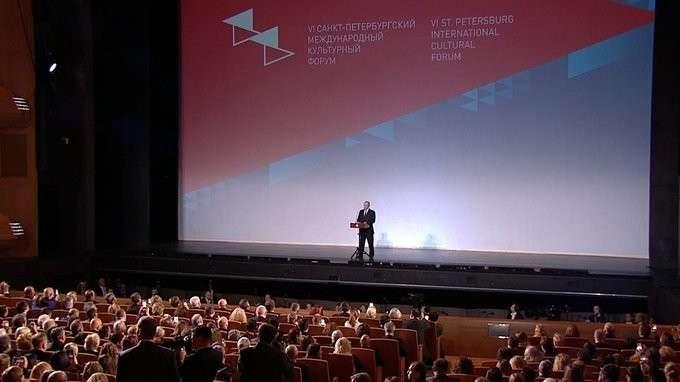 Владимир Путин дал старт VI Санкт-Петербургскому международному культурному форуму