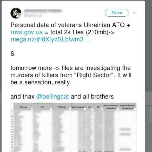 «Путь вРФзакрыт!» — украинские хакеры передали российским спецслужбам полный список участников «АТО» | Русская весна