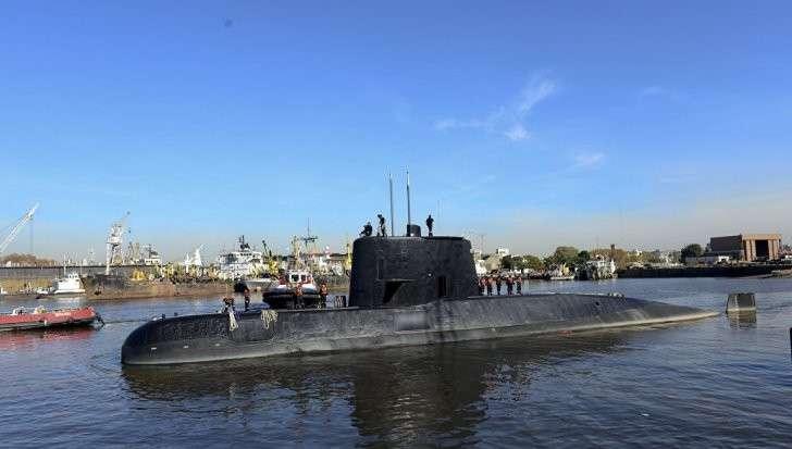 Аргентина: пропавшую подводную лодку могли утопить диверсанты