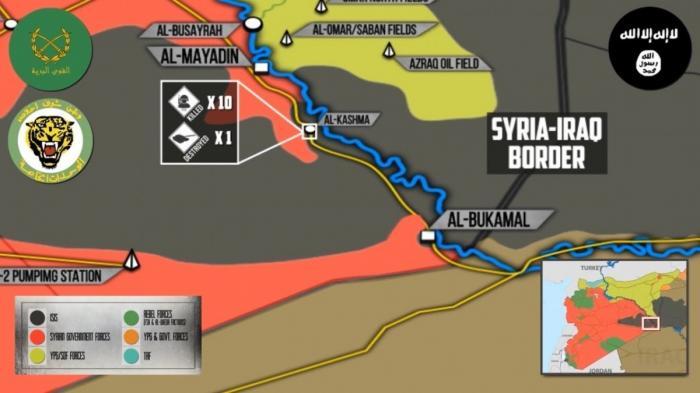 Сирия, Дейр эз Зор: засада боевиков ИГИЛ на спецназ силы Тигра