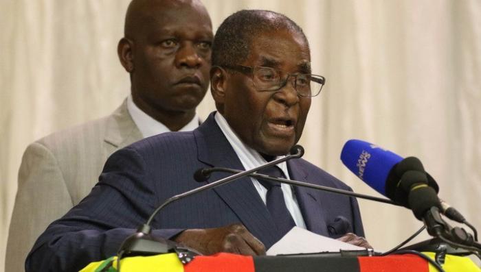 Африка, Зимбабве: государственный переворот, Мугабе отстранен
