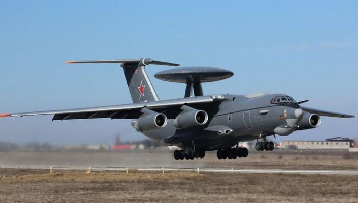 Новейший российский многофункциональный самолёт А-100 совершил первый полет