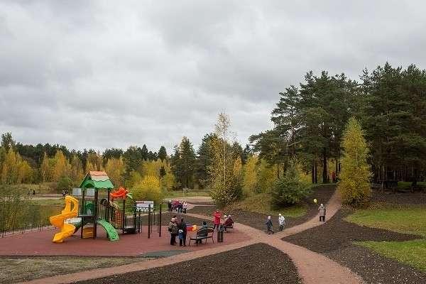Новые парки инабережные городов (Провинция обустраивается)