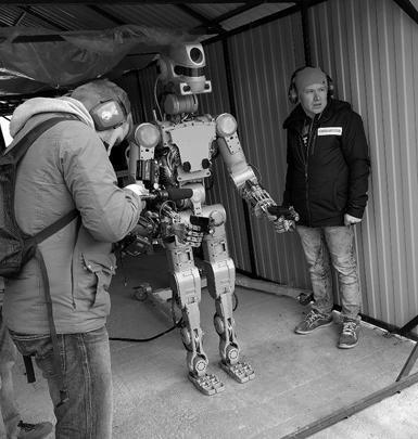 Робот Фёдор. Машины должны спасать людей, а не делать сальто