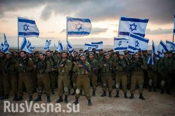 Сирия: армия террористического Израиля отрабатывает штурм сирийских Голанских высот | Русская весна