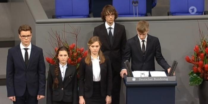 Школьник из России покаялся в парламенте Германии за «невинноубиенных» солдатах Вермахта