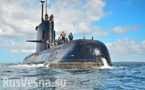 Экипаж потопленной аргентинской подлодки уже мертв | Русская весна