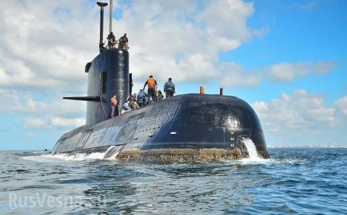 Экипаж потопленной аргентинской подлодки уже мертв