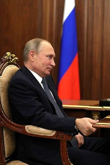 Навстрече сруководителем Федеральной налоговой службы Михаилом Мишустиным.