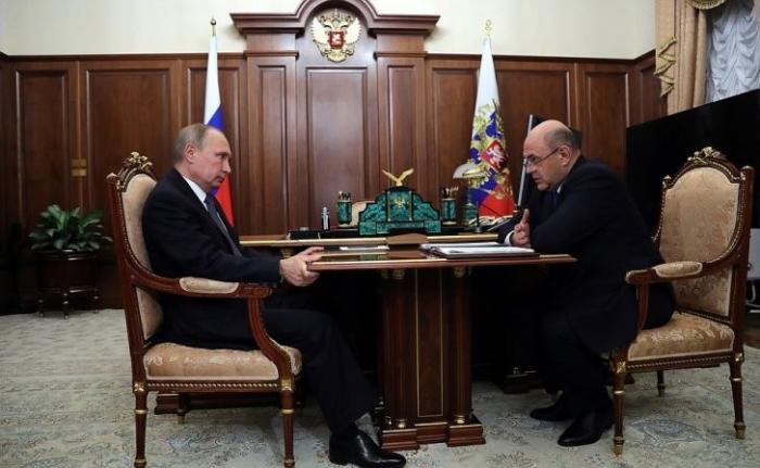 Руководитель ФНС информировал Владимира Путина о текущей работе ведомства