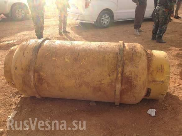 Сирийский спецназ обнаружил у американских наемников химическое оружие   Русская весна