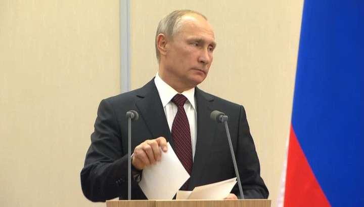 Владимир Путин поставил задачи перед российской армией