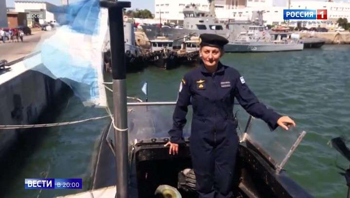 Аргентинская подлодка: на борту находилась первая женщина-подводник