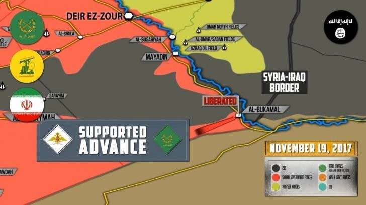 Сирия: правительственные силы вновь отбили последний оплот ИГИЛ Абу-Камаль
