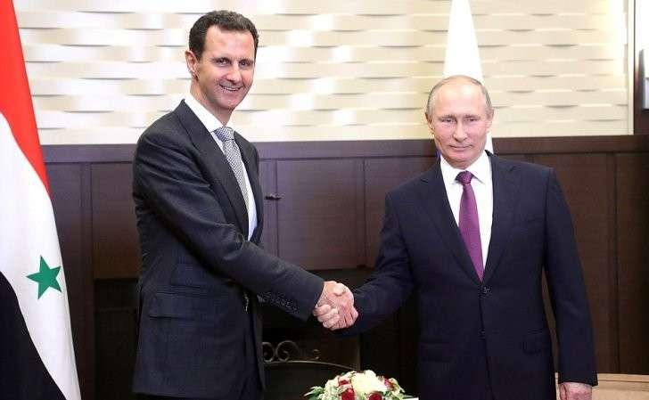 Владимир Путин и Башар Асад встретились в Сочи