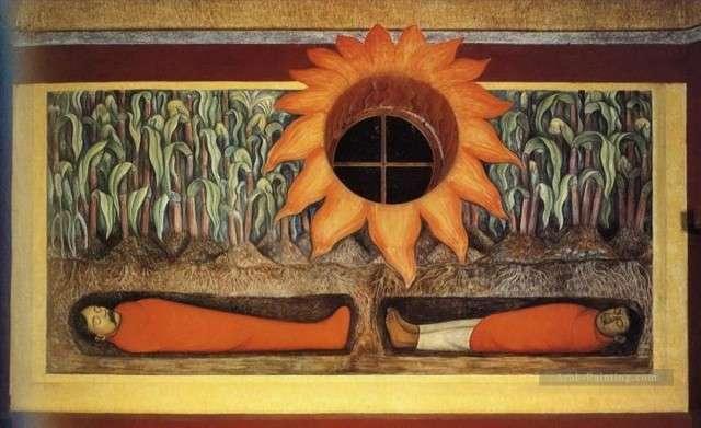 Диего Ривера, Кровь мучеников революции удобряет Землю. 1926