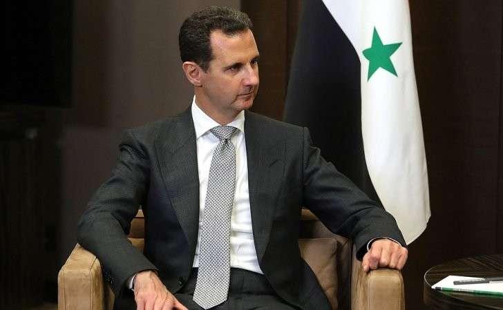 Президент Сирийской Арабской Республики Башар Асад.