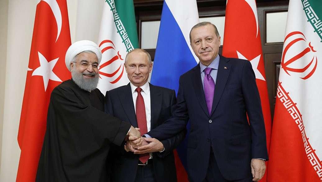Россия, Турция и Иран договорились сотрудничать в борьбе с терроризмом