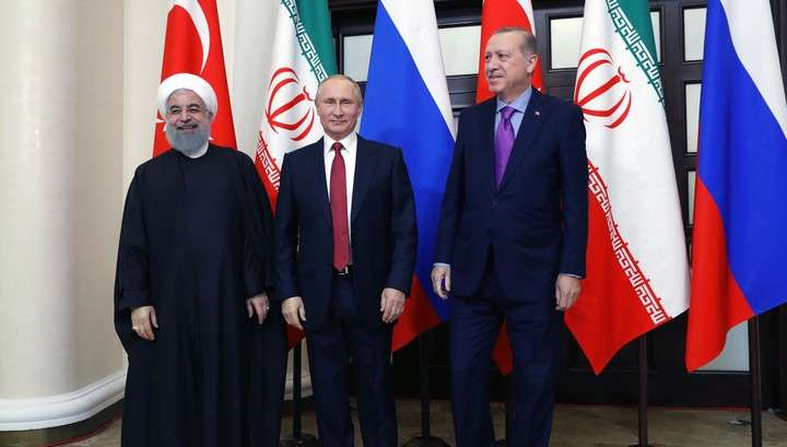 Владимир Путин: лидеры Турции и Ирана поддержали идею сирийского конгресса