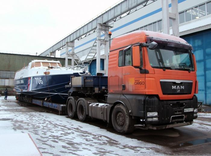 Судостроительный завод «Вымпел» отправил «Мангуста» вКрым