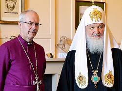 В Россию приехал архиепископ Кентерберийский Уэлби помянуть Елизавету II?