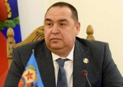 Глава ЛНР Игорь Плотницкий провел пресс-конференцию для журналистов