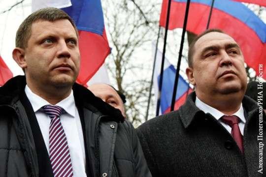 «Переворот» в Луганске подталкивает к возрождению Новороссии