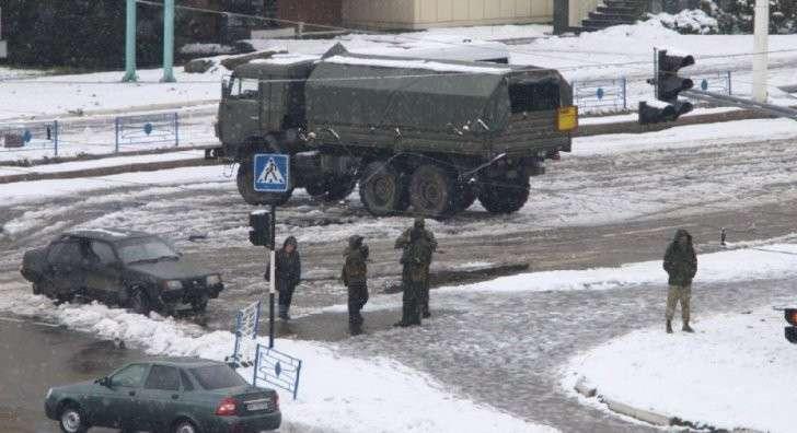 Обстановка в Луганске на вечер 22-го ноября 2017 года