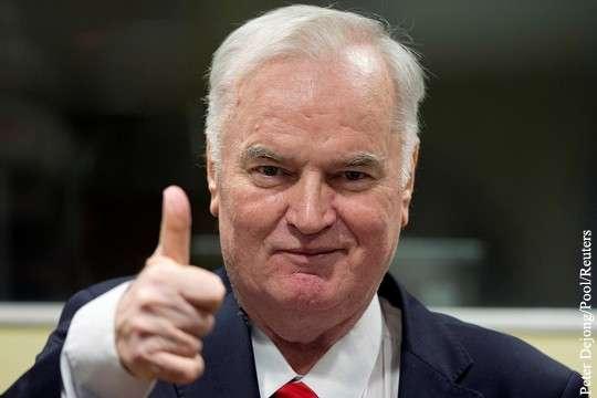 Расчленение Югославии: приговор Младичу построен на наглой и расчетливой лжи ЕС и НАТО