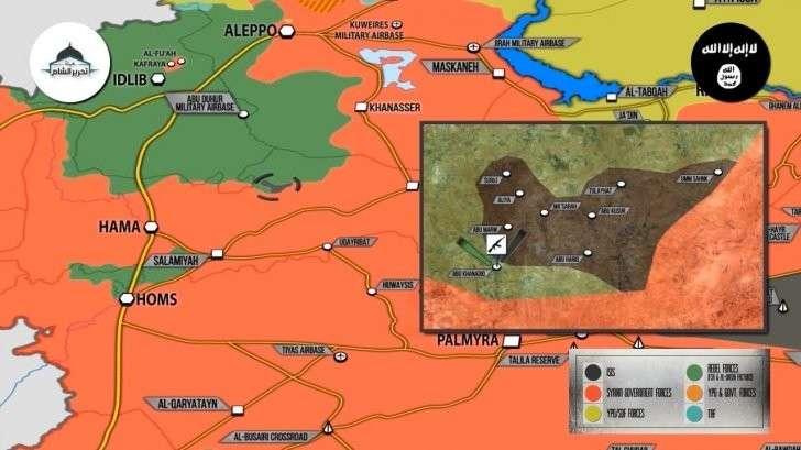 Сирия: боевики ИГИЛ захватили 8 деревень у боевиков Аль-Каиды