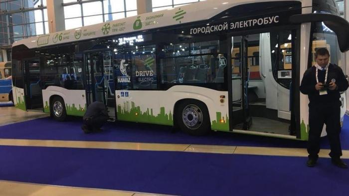 В Москве на международном салоне инноваций URBAN TRANSPORT представили транспорт будущего