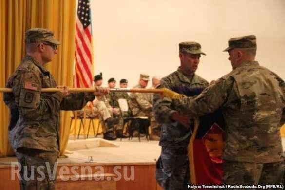 На Львовщину прибыли 250американских инструкторов (ФОТО) | Русская весна