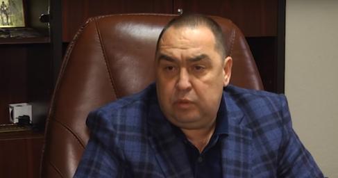 Глава ЛНР Игорь Плотницкий приземлился вМоскве