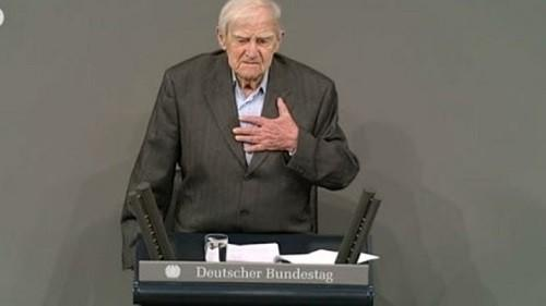 Выступление Даниила Гранина в Бундестаге. Другой человек – другие слова