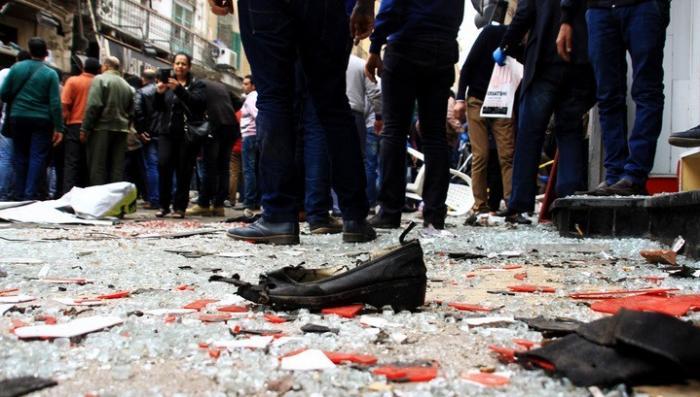 Египет: во время молитвы взорвали мечеть, более 50 человек пострадали