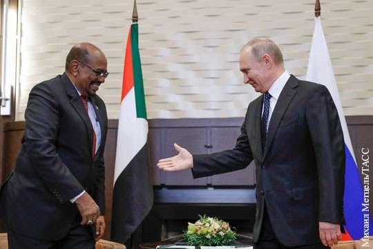 Фельдмаршал Судана привез Владимиру Путину ключ от Африки