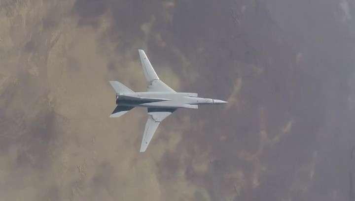 Сирия: российские бомбардировщики Ту-22М3 громят остатки американских наёмников