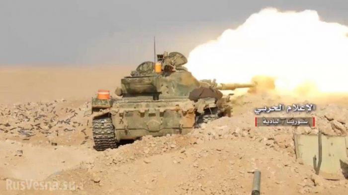 Последний котёл для ИГИЛ: ВКС России и «Тигры» громят врага в провинции Дейр-эз-Зор