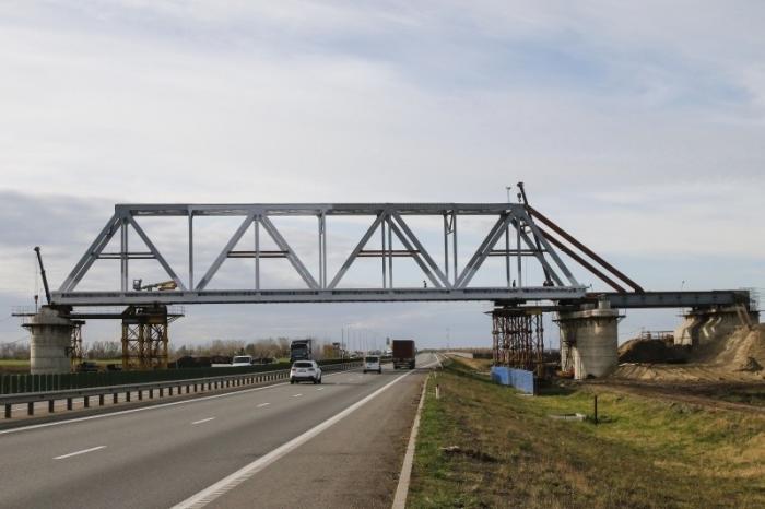 Краснодарский железнодорожный обход строится с опережающими темпами