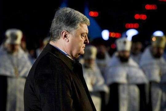Самозванец русофоб Порошенко врёт про голодомор и активы СССР