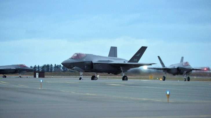 Норвегия: F-35 пойман на отправке «конфиденциальных данных» в США