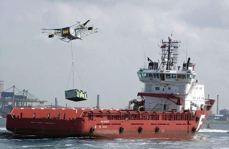 Британцы оценили новый российский грузовой дрон