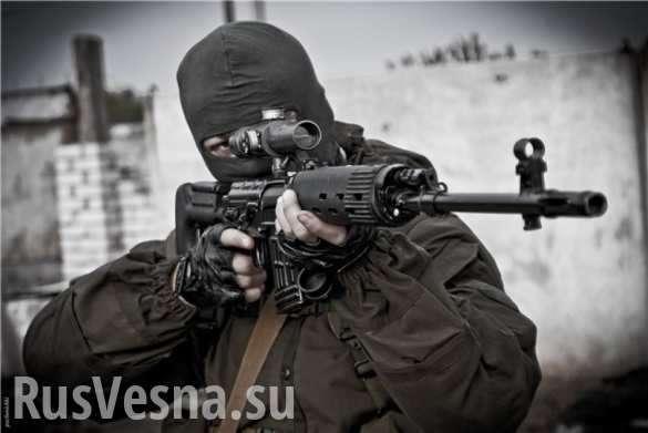 Жестокие кадры: Снайперы уничтожают украинских оккупантов на Донбассе(ВИДЕО 18+) | Русская весна