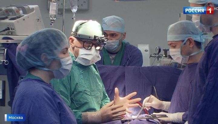 Московские хирурги впервые в мире имплантировали пациенту уникальный сердечный клапан