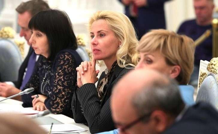 Участники заседания Координационного совета пореализации Национальной стратегии действий винтересах детей.