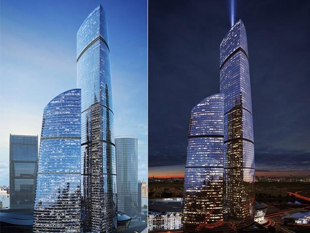 Москва: завершено строительство самого высокого жилого небоскреба Европы