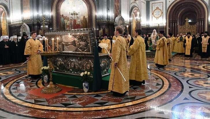 РПЦ: Архиерейский собор начался в храме Христа Спасителя